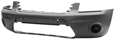 Replacement Car Parts for Ford Connect Front bumper dark grey