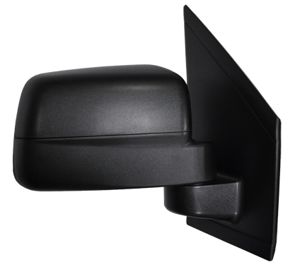 Replacement Car Parts for Ford Connect Door mirror manual black right hand single glass