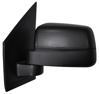 Replacement Car Parts for Ford Connect Door mirror manual black left hand single glass