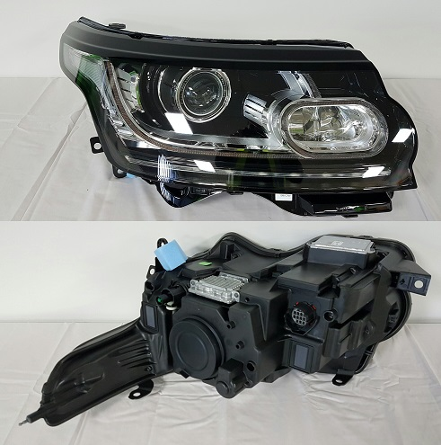 Headlight Xenon Bend Lighting LED Right Hand