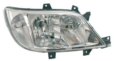 Headlight With Spotlight Right Hand