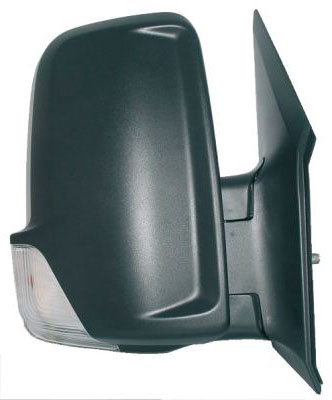 Replacement Car Parts for Mercedes Sprinter Door mirror manual with indicator lamp right hand