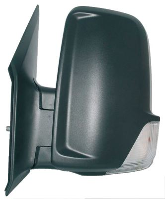 Replacement Car Parts for Mercedes Sprinter Door mirror manual with indicator left hand