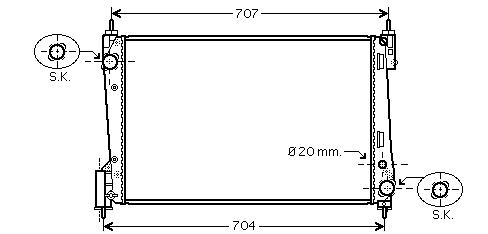 VAUXHALL CORSA Radiators & Condensor
