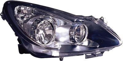 Headlight Black VXR / SXI / SRI Right Hand
