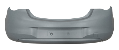 Rear Bumper Primed Independently Certified Not Sri/VXR Models for VAUXHALL CORSA