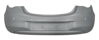 Rear Bumper Primed With PDC Indendantly Certified