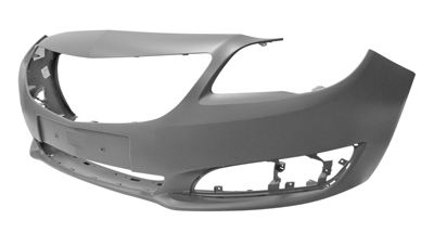 Front Bumper Primed With Markings To Cut For Sensors and Washers for VAUXHALL INSIGNIA