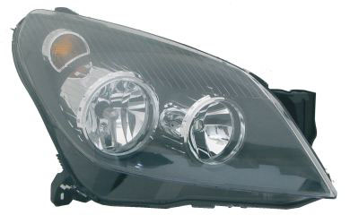 Replacement Car Parts for Vauxhall Astra Headlight right hand black inner