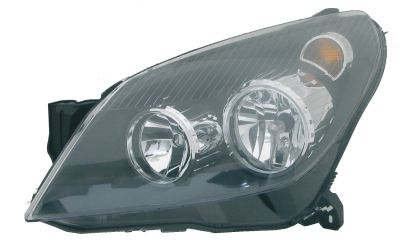 Replacement Car Parts for Vauxhall Astra Headlight left hand black inner