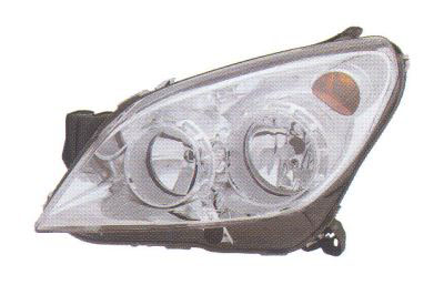 Replacement Car Parts for Vauxhall Astra Headlight right hand chrome inner w/built in motor