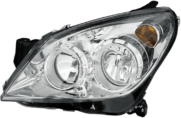 Replacement Car Parts for Vauxhall Astra Headlight right hand chrome inner oem/oes