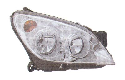 Replacement Car Parts for Vauxhall Astra Headlight left hand chrome inner w/built in motor
