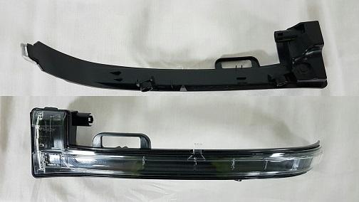 Replacement Car Parts for Peugeot 308 Door mirror indicator left hand