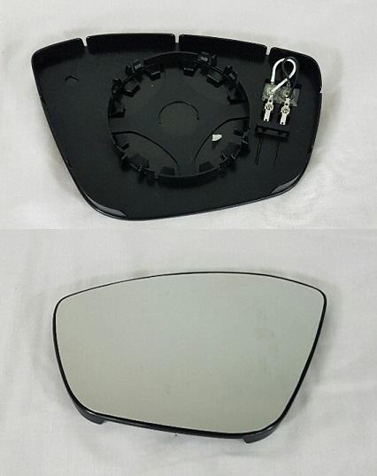 Replacement Car Parts for Peugeot 308 Door mirror glass heated left hand