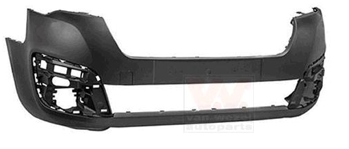 Replacement Car Parts for Peugeot Partner Front bumper black