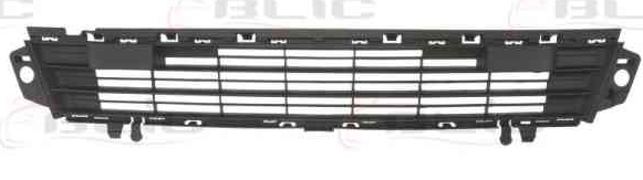 Replacement Car Parts for Peugeot Partner Front bumper grille black