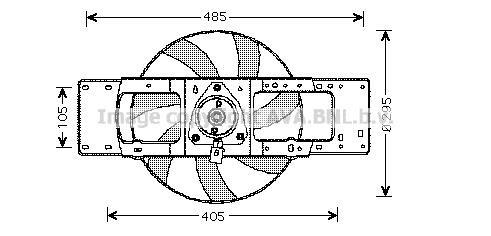 Radiator Fan 1.2 (B/C57R)