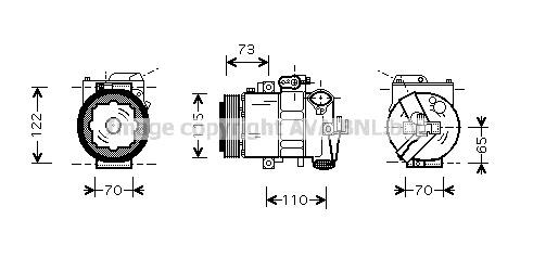 Replacement Car Parts for Skoda Fabia Compressor 1.9 tdi manual