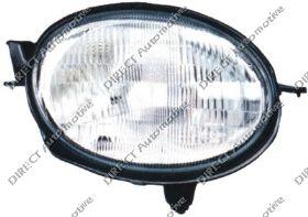 Headlight Electric Left Hand
