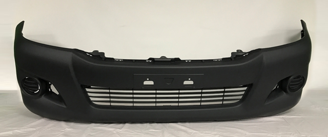 Replacement Car Parts for Toyota Hilux Front bumper without fender flare holes 4wd