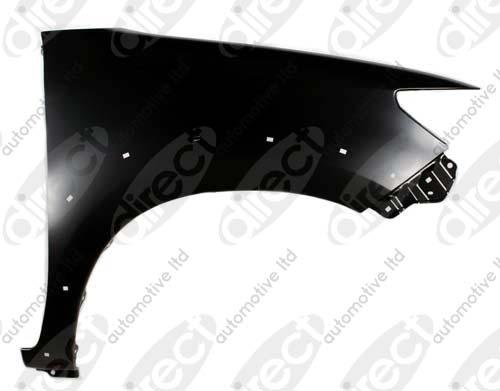 Replacement Car Parts for Toyota Hilux Front wing right hand for 4wd models with flare hole