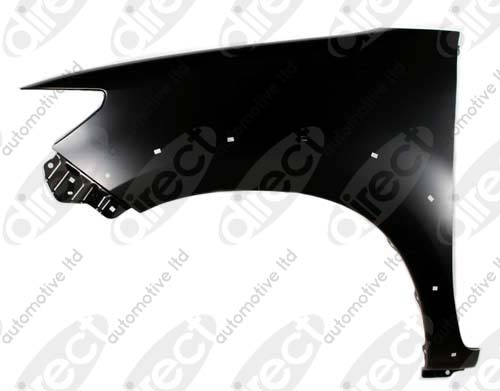 Replacement Car Parts for Toyota Hilux Front wing left hand for 4wd models with flare hole