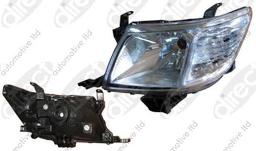 Replacement Car Parts for Toyota Hilux Headlight manual levelling left hand