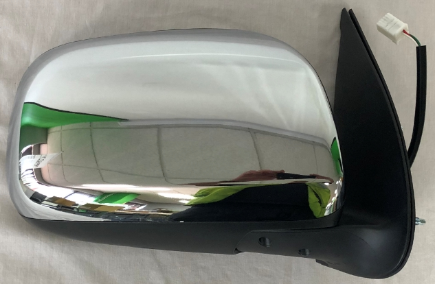 Replacement Car Parts for Toyota Hilux Door mirror w/lamp electric chrome right hand