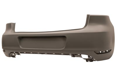 Rear Bumper Primed for VOLKSWAGEN GOLF