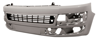Replacement Car Parts for Volkswagen Transporter Front bumper primed sport line / caravelle models ind certified