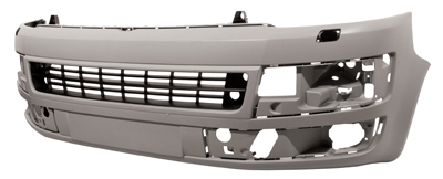 Replacement Car Parts for Volkswagen Transporter Front bumper primed with headlight wash + pdc sport line / caravelle models