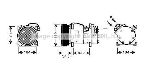 Replacement Car Parts for Volkswagen Transporter Compressor 2.0 tsi 4motion